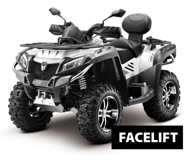 JourneyMan Gladiator X8 V-twin DeLuxe EPS FACELIFT